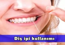 Diş ipi kullanımı