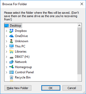 How to recover files deleted from the Recycle Bin