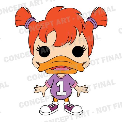 #darkwing duck #Webby Vanderquack #Funko #Pop Viny #toy fair 2017