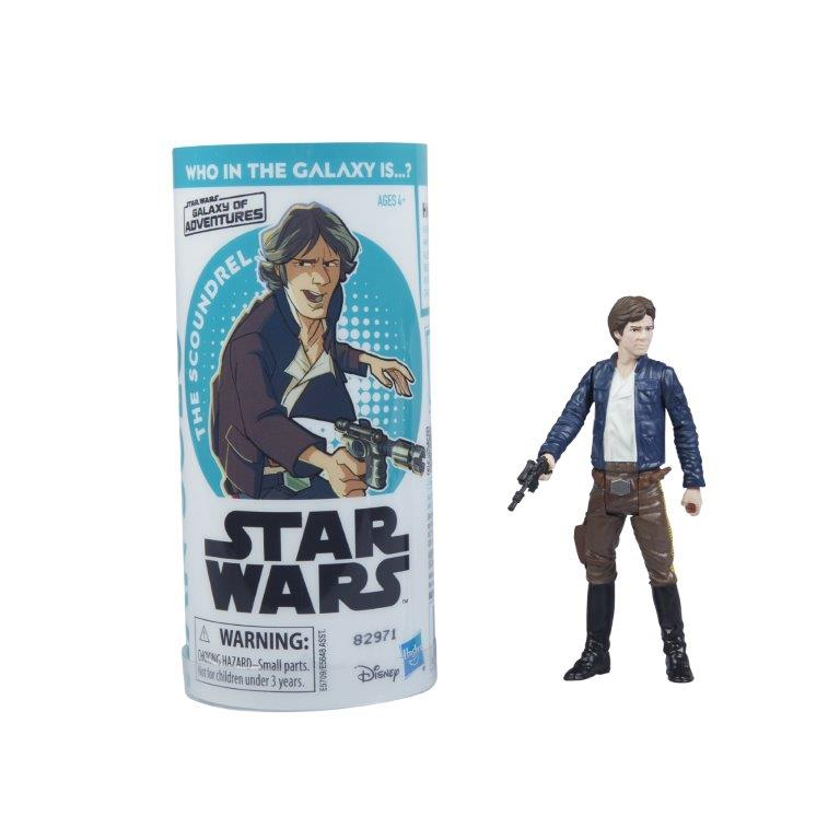 Hasbro Reveals Star Wars Galaxy Of Adventures Action