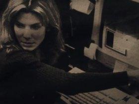 net neutrality. screenshot of Sandra Bullock and an old computer.