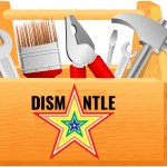 toolbox with dismantle logo