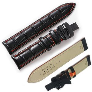 Mido Miltifort Leather Watch Band Strap