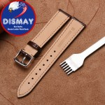 20mm Replacement Leather Watch Band Strap For Baume & Mercier Clifton 10422