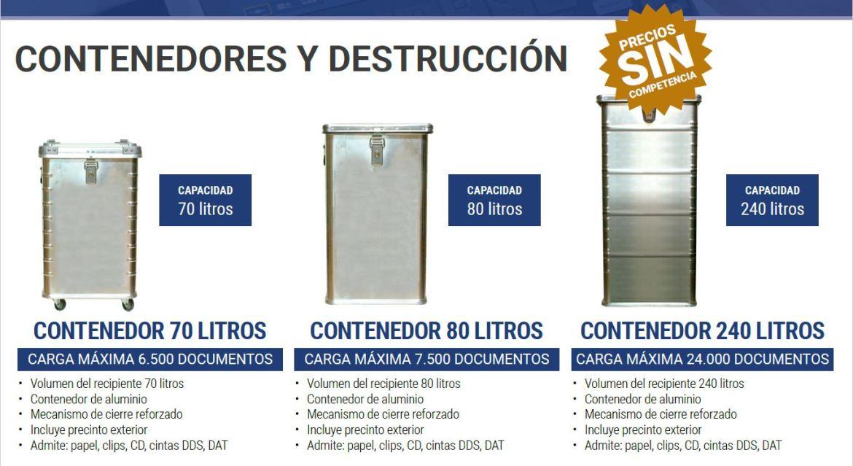Servicio de destrucción de documentos en la provincia de Pontevedra