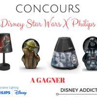 Que la force de la lampe Star Wars soit avec toi ! #concours