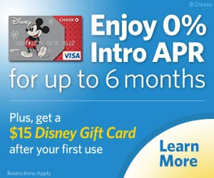 Disney Rewards® Visa® Card from Chase