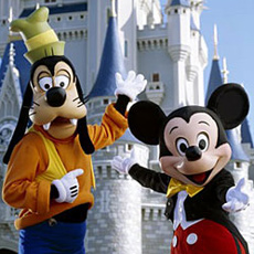 Goofy and Mickey Mouse