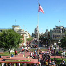 Main Street and Cinderella Castle