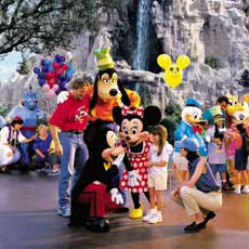 Family vacation at Walt Disney World Resort.
