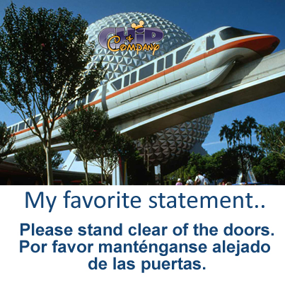 Where does the Disney World Monorail go?