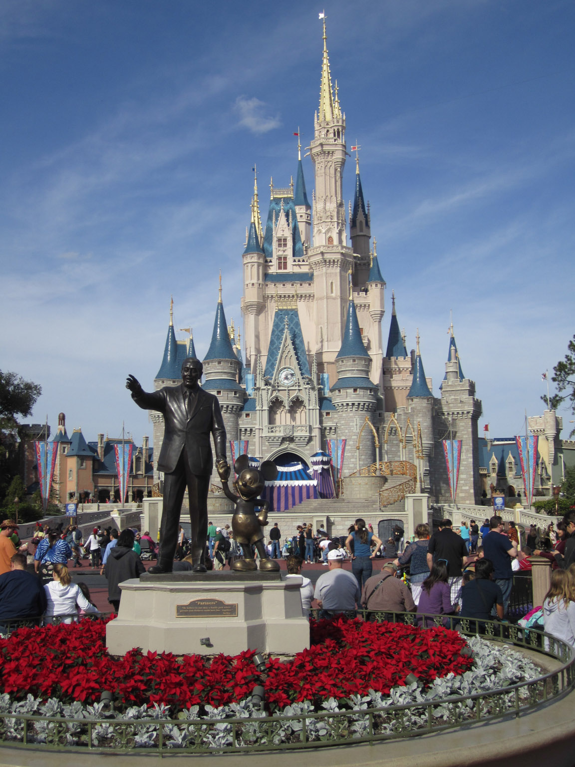 Have the Walt Disney World theme parks ever closed?