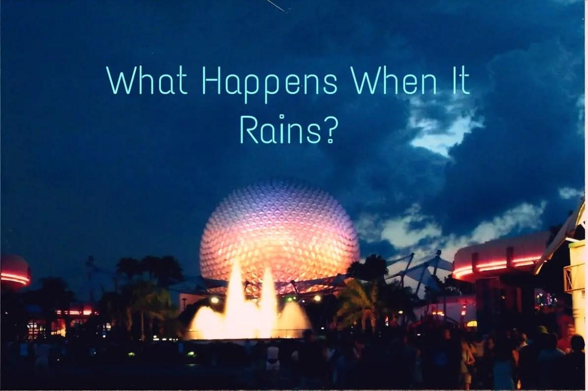Does Walt Disney World Park Close When It Rains?