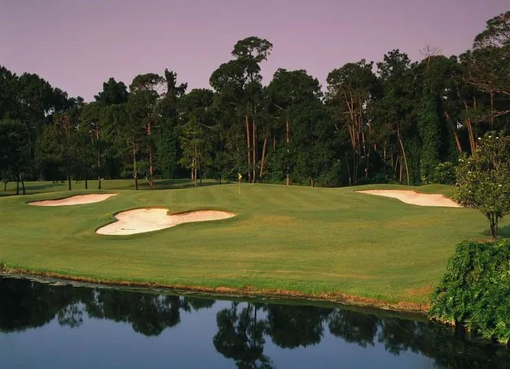 Golfing in Walt Disney World