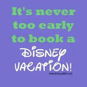 Booking a Disney Trip