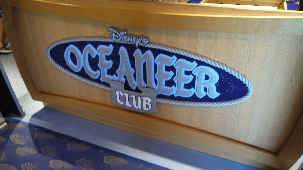 What are the requirements for children to participate in Disney's Oceaneer's Club on a Disney Cruise?