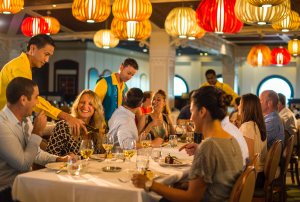 rotational dining disney cruise line