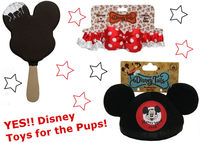 Does Disney sell toys for pets?