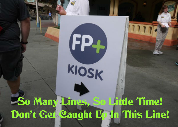A quick tip on selecting those additional FastPasses at kiosk locations