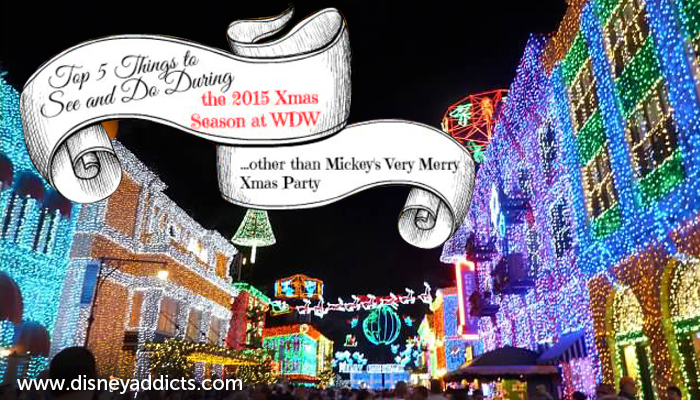 Best things to see and do at Disney World during the Christmas season that don't require a separate ticket