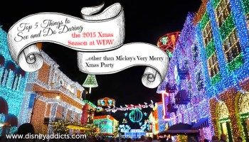 best things to see and do at disney world during the christmas season that don