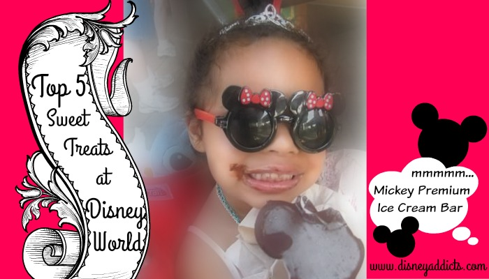 Top 5 Sweet Treats at Disney World