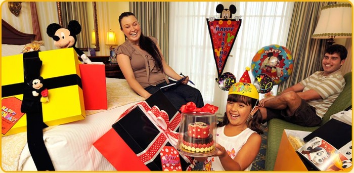 "What are ""In-Room Celebrations"" at the Walt Disney World Resort?"