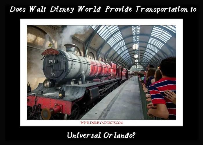 Does Walt Disney World Provide Transportation to Universal Orlando?