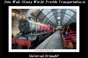 Does Walt Disney World Provide Transportation to Universal Orlando? 18
