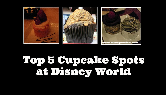 Top 5 Cupcake Spots at Disney World
