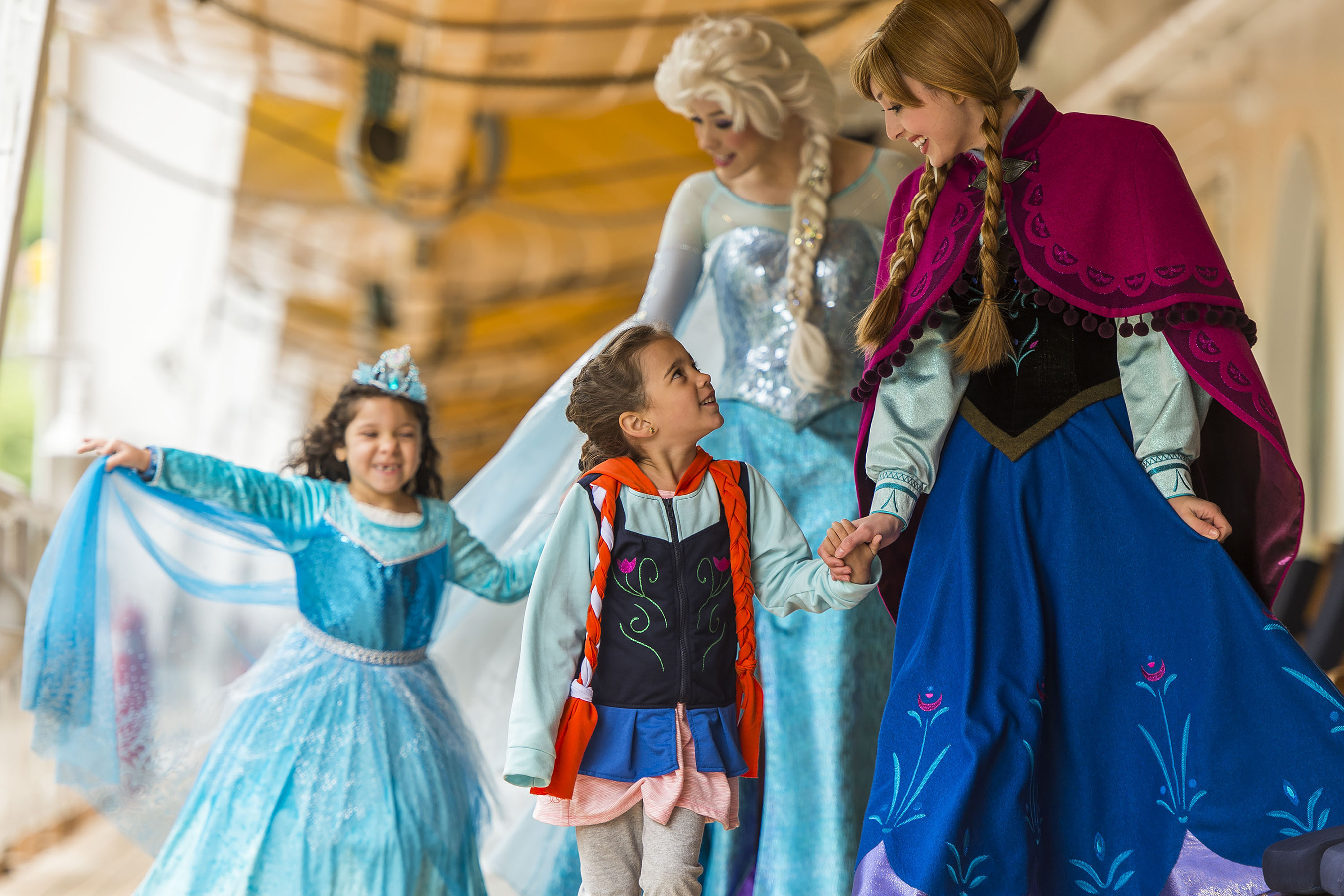 Can You Meet The Frozen Characters On A Disney Cruise