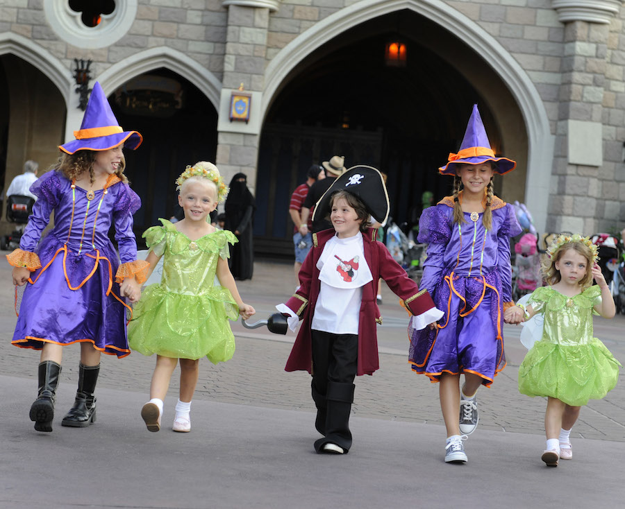 What are the Costume Guidelines For Mickey's Not-So-Scary Halloween Party?