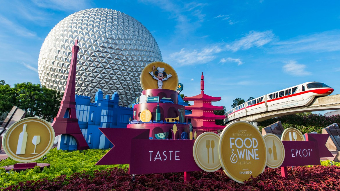 What Are The Dates For This Year's Food & Wine Festival?