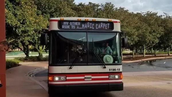 What Time in the Morning Do Disney Resort Buses Start Running?