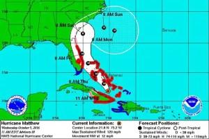 Disney Hurricane Matthew