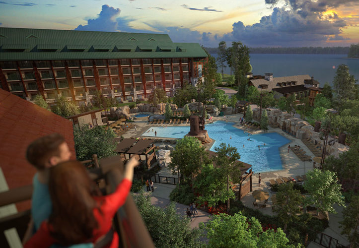 What Changes Have Been Made to Wilderness Lodge and Villas?