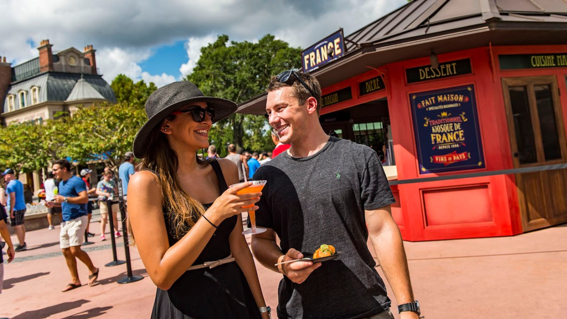 Drink Around the World with these Amazing Drinks from Epcot's World Showcase
