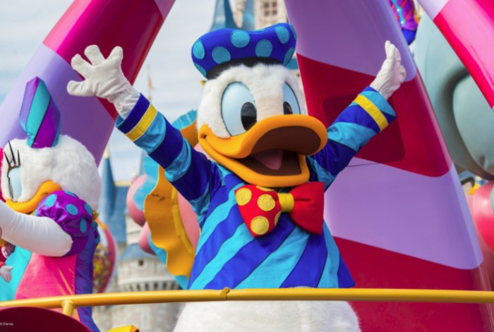 Disney World Donald