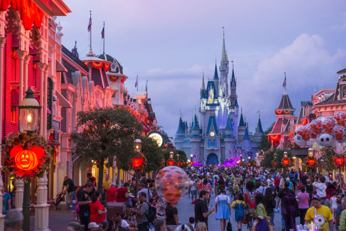 halloween party magic kingdom