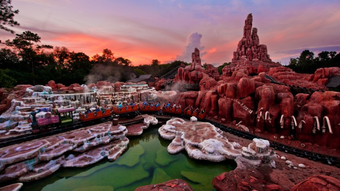 It's the Wildest History Ride in the Wilderness: Big Thunder Mountain