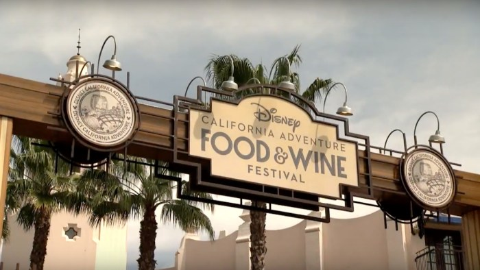 8 Ways to Indulge at the California Adventure Food & Wine Festival.