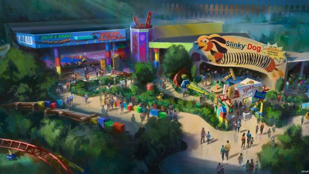 Will There Be a Soft Opening and Preview Periods for Toy Story Land?
