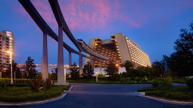 The History in Disney's Contemporary Resort