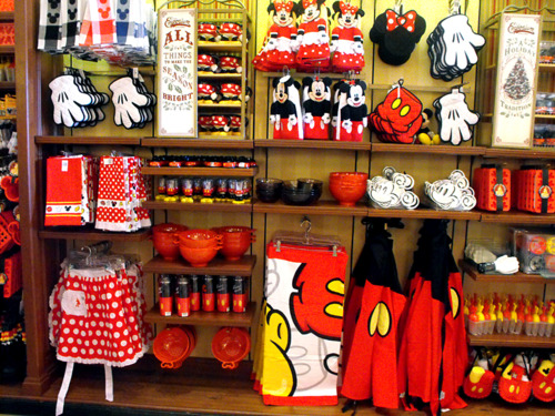 Disney Kitchen Souvenirs