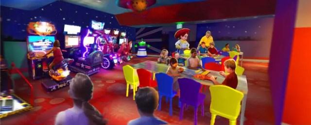Pixar Play Zone