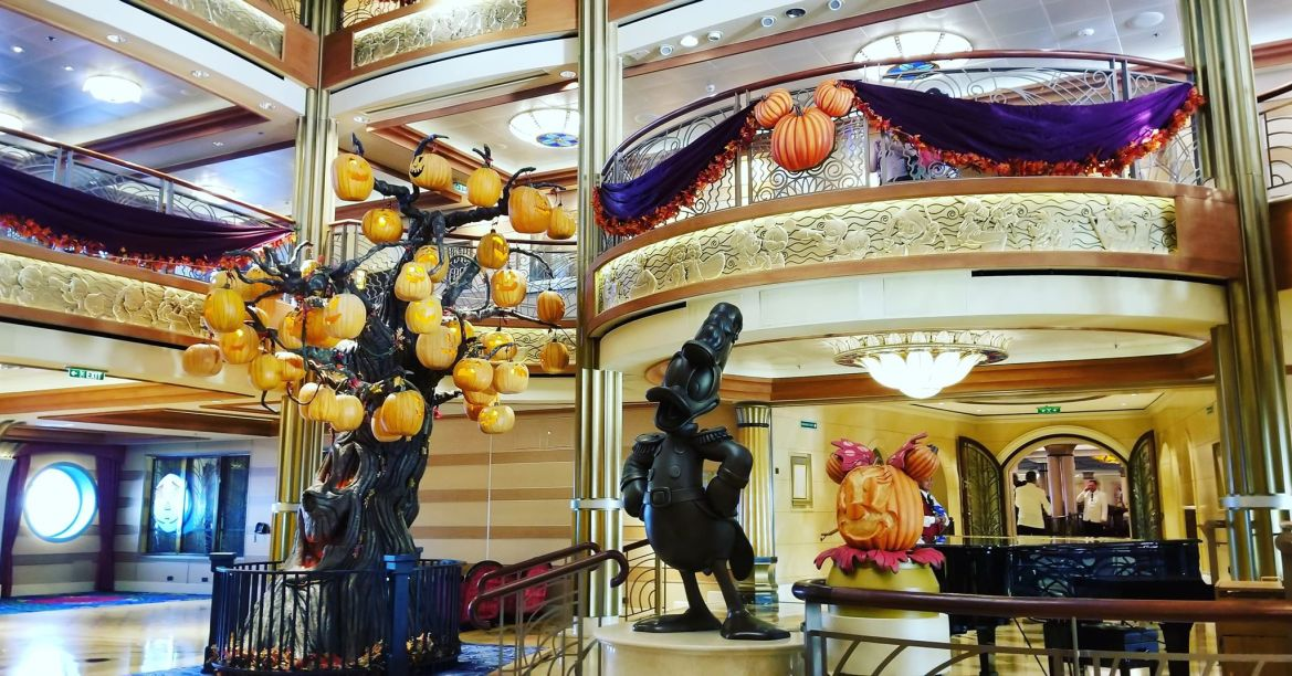 Some of the Spooktacular Touches You'll Find on a Halloween on the High Seas Sailing
