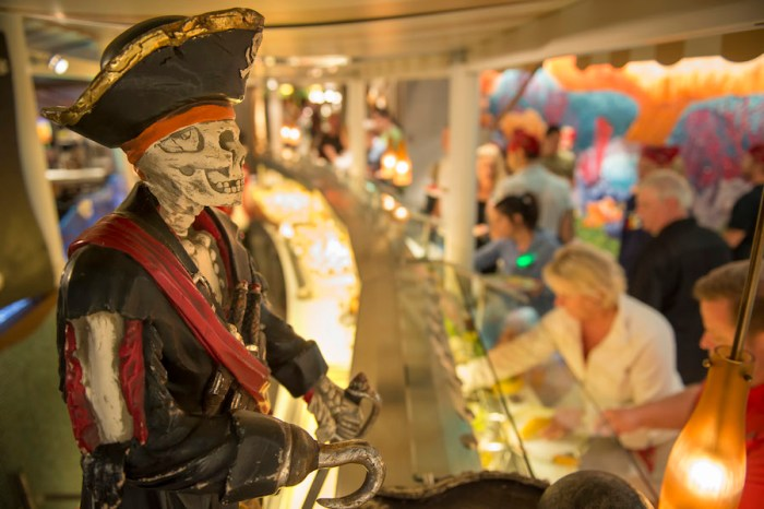 Disney Cruise Line Pirate Night`