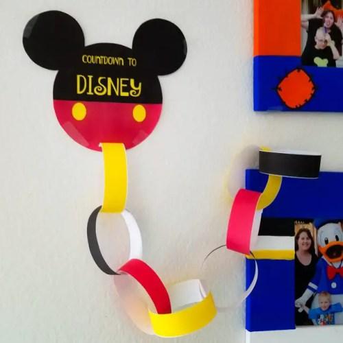 Disney DIY Trip Countdown Crafts 3