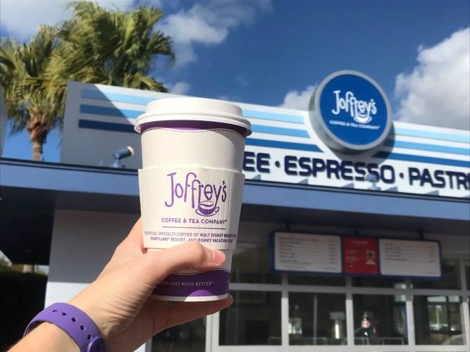 Joffrey's hot coffee in Disney