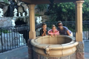 Snow White's Wishing Well in Disneyland